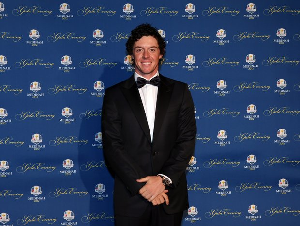 Rory McIlroy of Europe attends the 39th Ryder Cup Gala at Akoo Theatre at Rosemont on September 26, 2012 in Rosemont, Illinois.