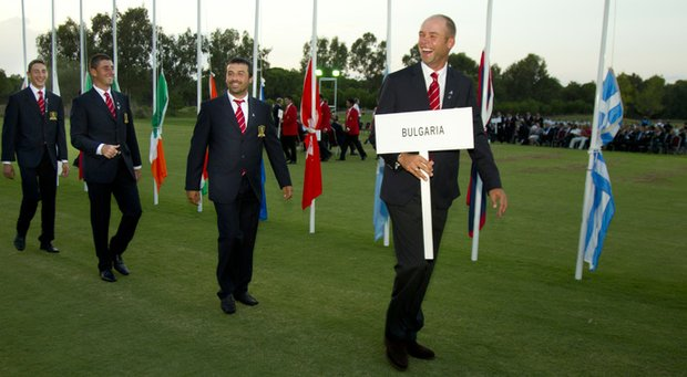 The Bulgarian contingent at the World Amateur Team Championship in Turkey.