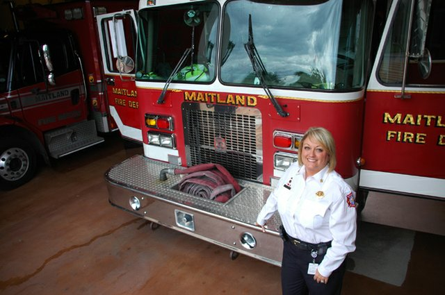Maitland&#39;s new fire chief Kim Neisler