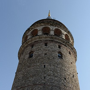 The Galta Tower in Istanbul, Turkey.
