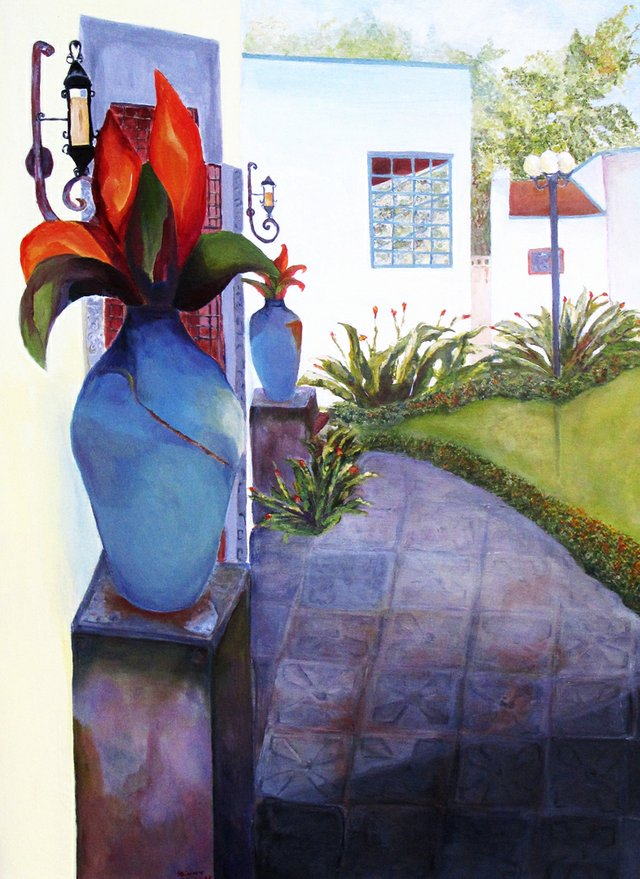 Harry P. Leu Gardens will host the Artists League of Orange County - 60 Years of Celebration! gallery until Friday, Nov. 2.