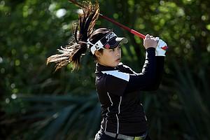 Moriya Jutanugarn at 86th South Atlantic Amateur at Oceanside Country Club.