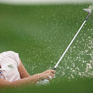 Ariya Jutanugarn during the 61st U. S. Girls' Junior Championship at Trump National Golf Club in Bedminster, New Jersey.