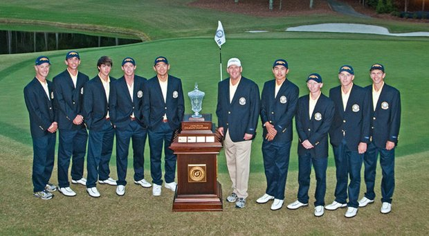 Georgia Tech after a dramatic, come-from-behind victory at the U.S. Collegiate.