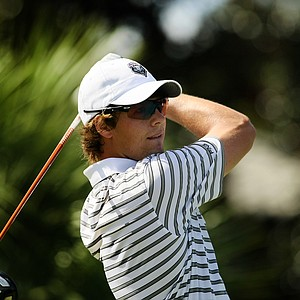 Victor Perez of New Mexico during the Isleworth Collegiate Invitational.