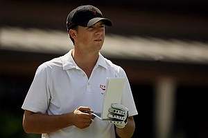 Jordan Spieth with Texas during the 2012 Isleworth Collegiate Invitational.