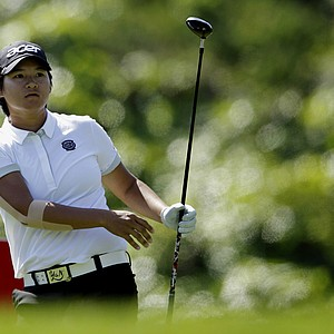 Yani Tseng of Taiwan hits her tee shot on the 15th hole during the first round of the Kia Classic LPGA golf tournament Thursday, March 22, 2012, in Carlsbad, Calif.