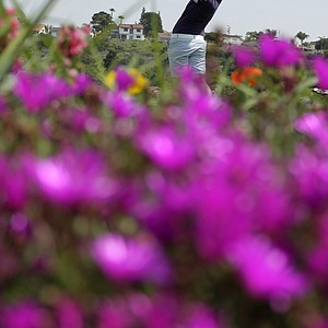 Yani Tseng of Taiwan, hits her tee shot on the fourth hole during the third round of the Kia Classic LPGA golf tournament Saturday, March 24, 2012, in Carlsbad, Calif.