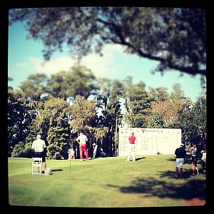 View of No. 18 during the Isleworth Collegiate Invitational at Isleworth Golf and Country Club.