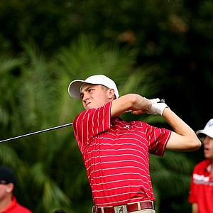 Justin Thomas of Alabama during the Isleworth Collegiate Invitational. Thomas finished third individually.