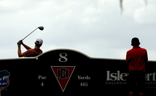 Brandon Stone of Texas at No. 8 during the Isleworth Collegiate Invitational. Stone finished T21.