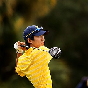 Cal's Michael Kim was the medalist at the Isleworth Collegiate Invitational. Kim's first collegiate win.
