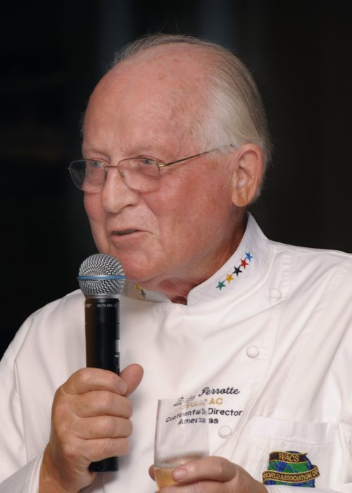 "Chef Louis Perrotte is an ""Ami Spècial du Collège"" of Le Cordon Bleu."
