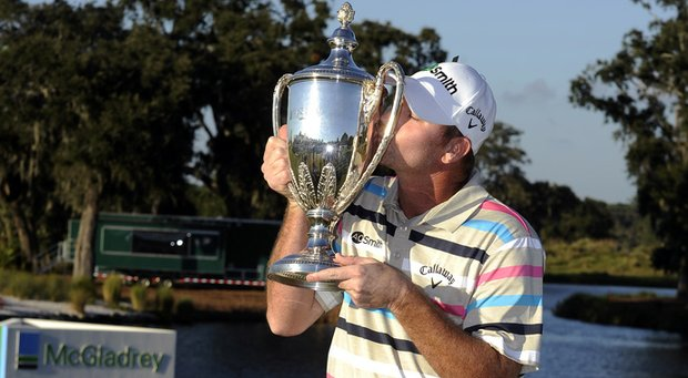 Tommy Gainey after winning the McGladrey Classic.