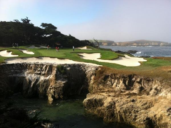 One of the many views at Cypress Point.