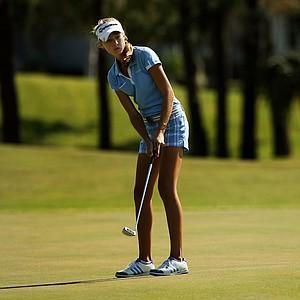 Nelly Korda at the Golfweek East Coast Junior Invitational at Celebration Golf Club.