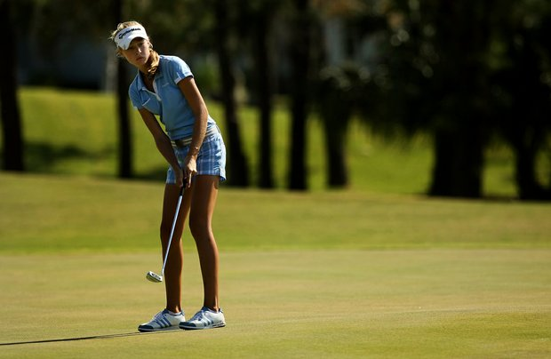 Nelly Korda at the Golfweek East Coast Junior Invitational at Celebration Golf Club.