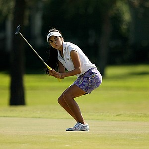 Clementina Rodriguez at the Golfweek East Coast Junior Invitational at Celebration Golf Club.