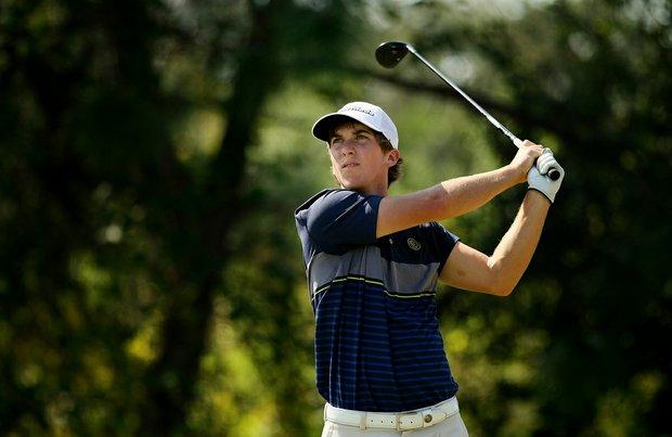 Zachary Healy at the Golfweek East Coast Junior Invitational at Celebration Golf Club.