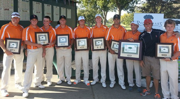 Oklahoma State won the Royal Oaks Intercollegiate for its first victory since the 2011 NCAA Colorado Regional.