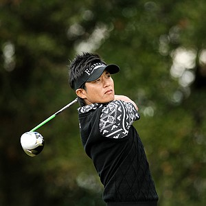 Ryuji Imada on the Magnolia Course during the Children's Miracle Network Hospitals Classic.