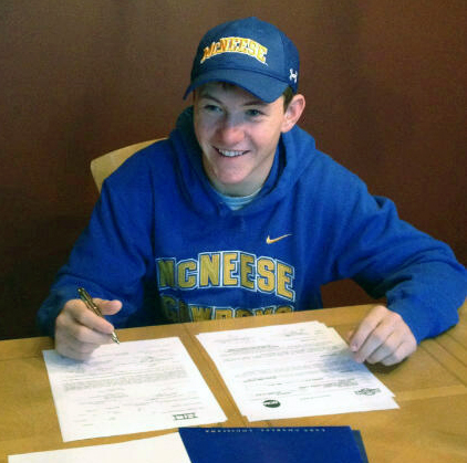 Geoff Fry signs with McNeese State