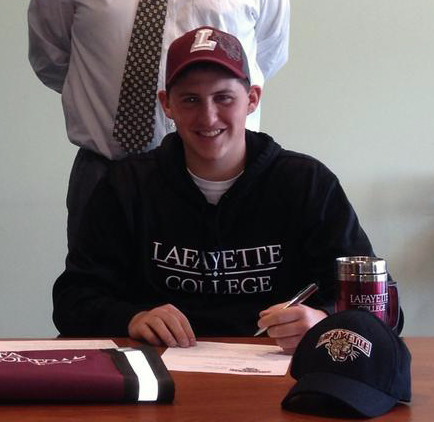 Jared Mactas signs with Lafayette College