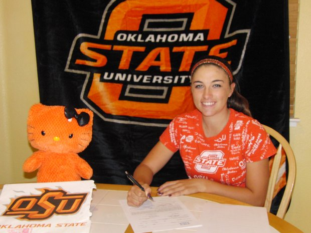 Casie Cathrea signs with Oklahoma State