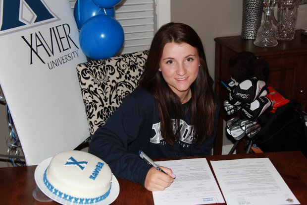 Grace Howie signs with Xavier