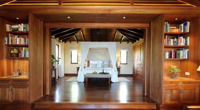 An interior shot of one of Royal Isabela's new casitas.