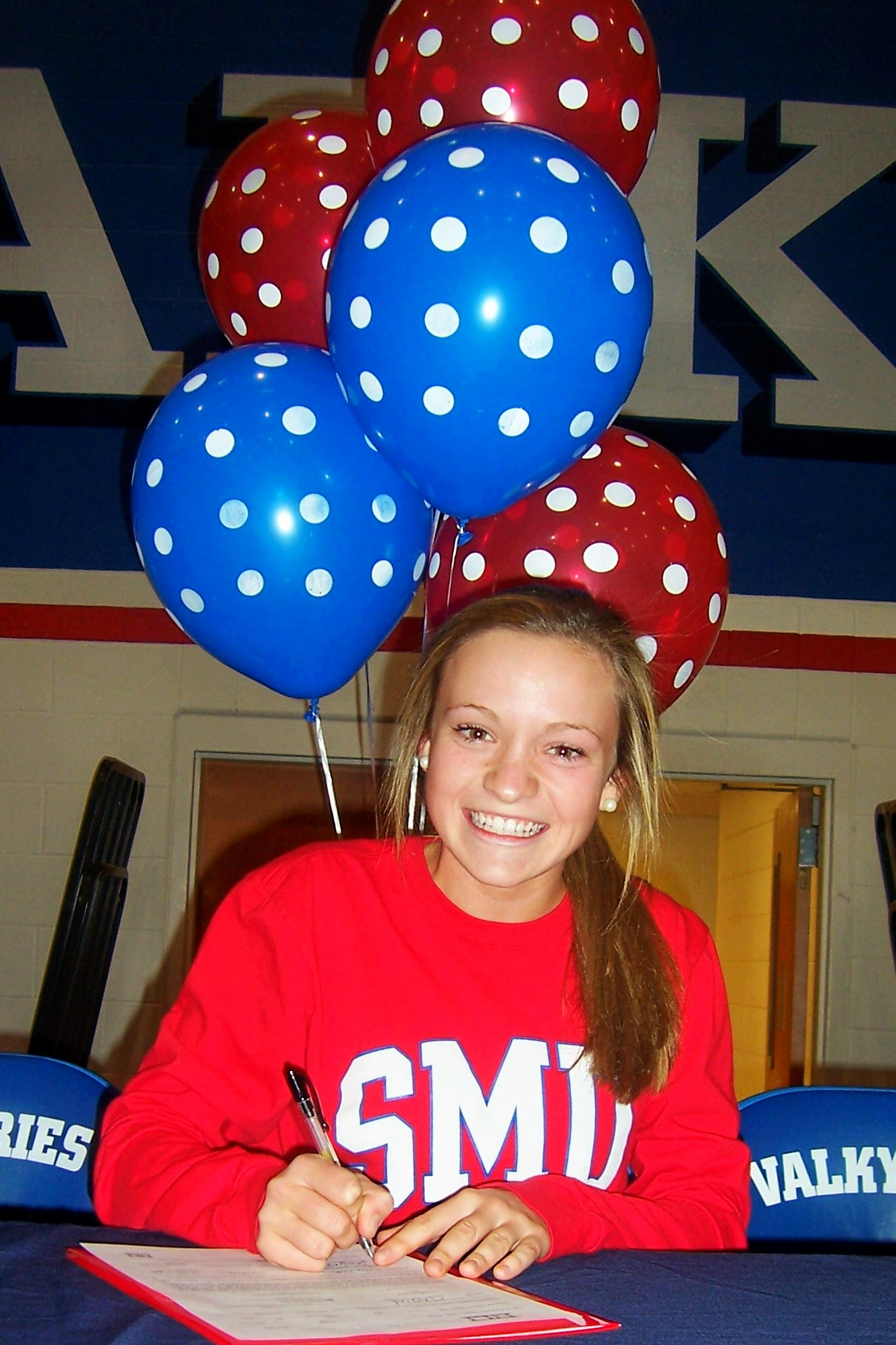 Katie Page signs with SMU