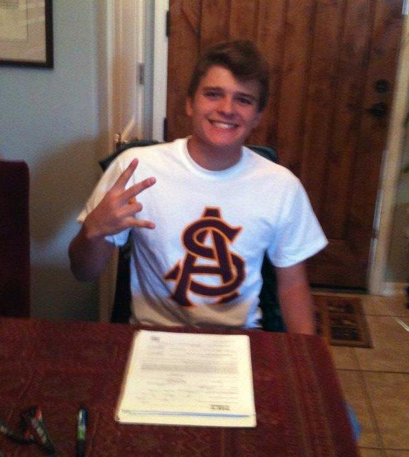 Nicolo Galletti signs with Arizona State