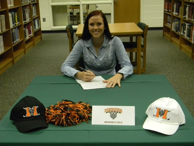 Haley Austin signs with Mercer