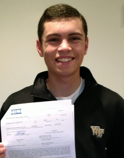 Danny Guise signs with Wake Forest