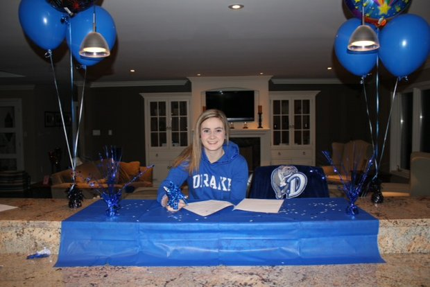 Sarah Browning signs with Drake