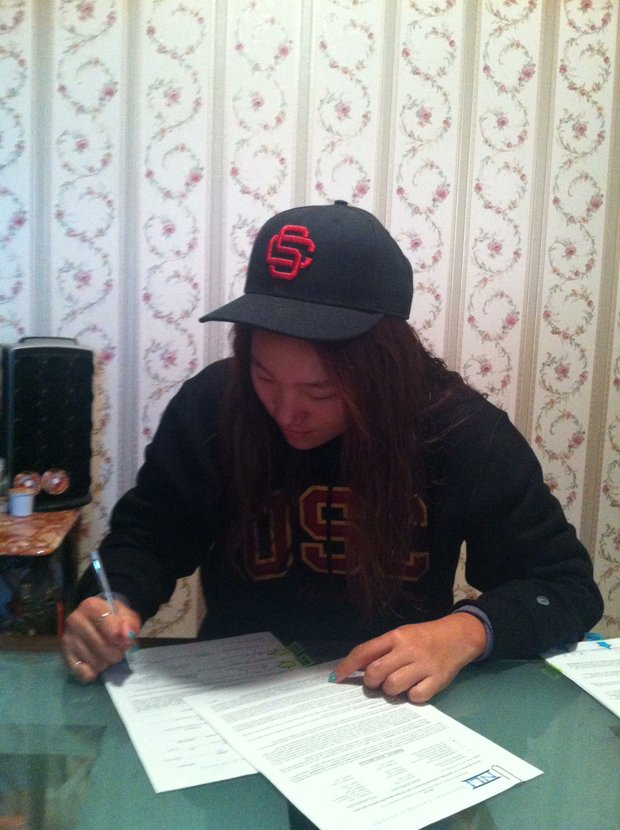 Annie Park signs with USC