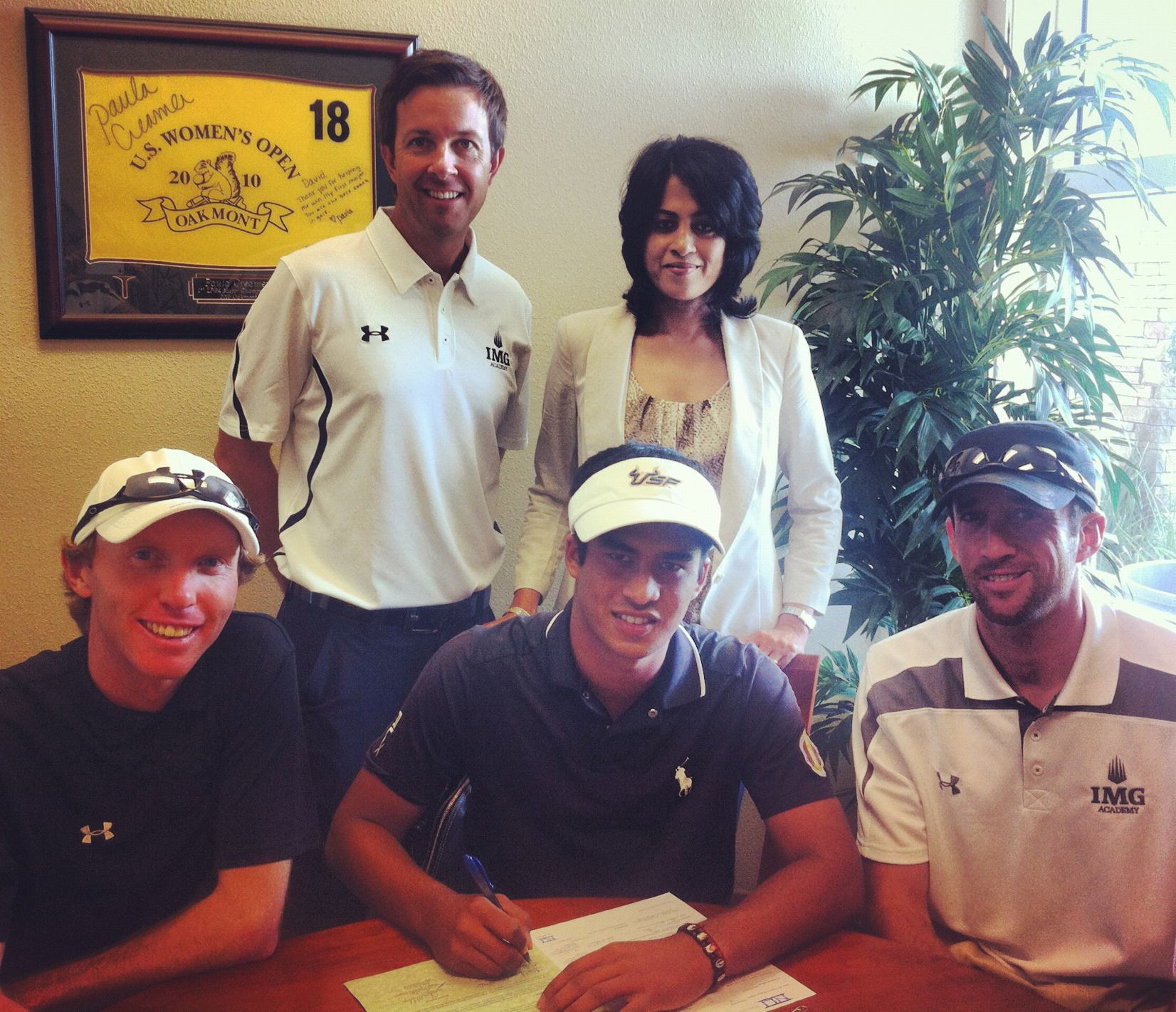 Rigel Fernandes signs with South Florida
