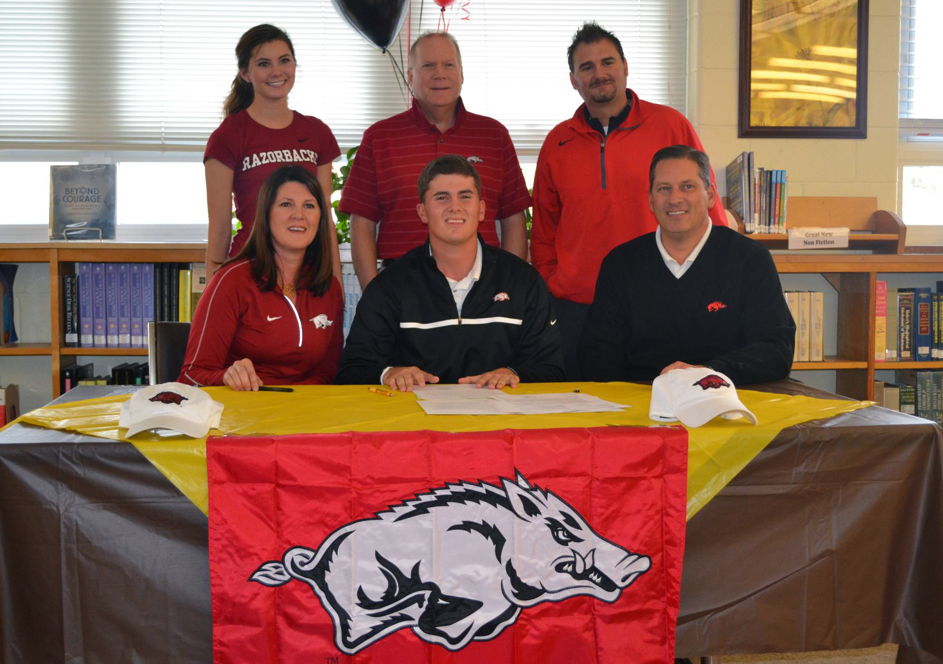 Alec Tahy signs with Arkansas