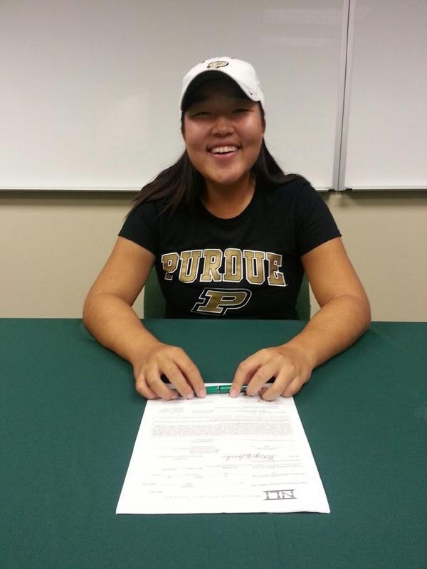 August Kim signs with Purdue