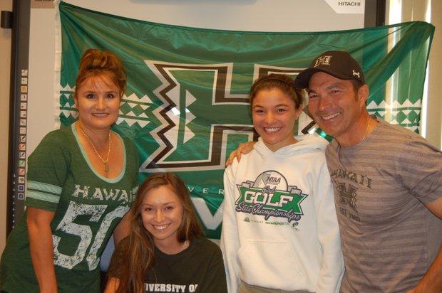 Brianna Becker signs with Hawaii