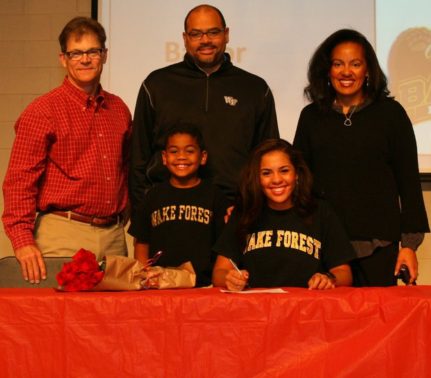 Sierra Sims signs with Wake Forest