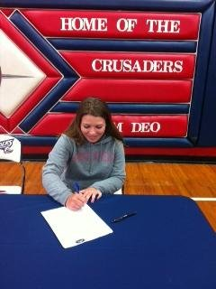 Morgan Gardner signs with Austin Peay