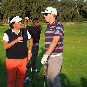 Amy Alcott and Hunter Mahan discuss how they got started in golf.