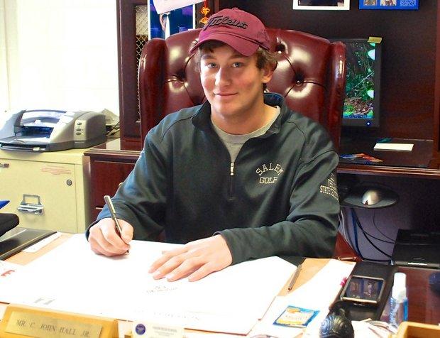 Garrett Sweeney signs with Lafayette College