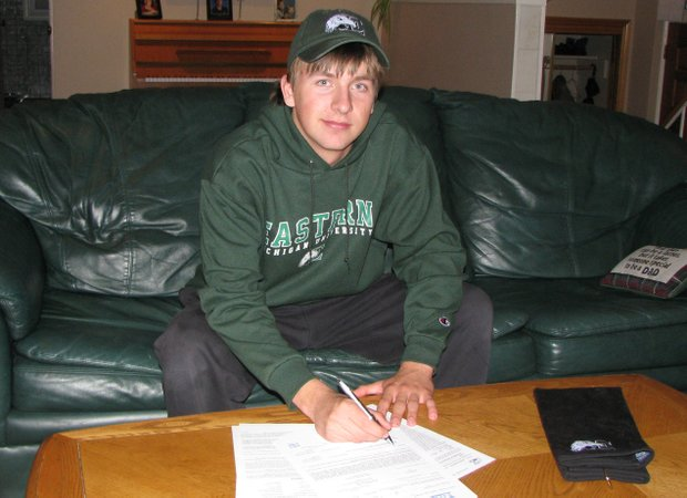Joseph Kremer signs with Eastern Michigan