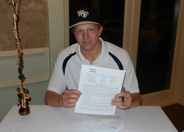 Woody Woodward signs with Wake Forest