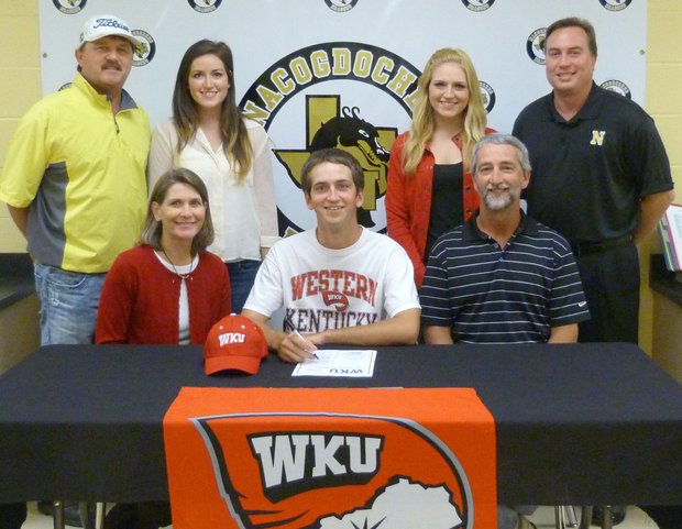 Colin Frizzell signs with Western Kentucky