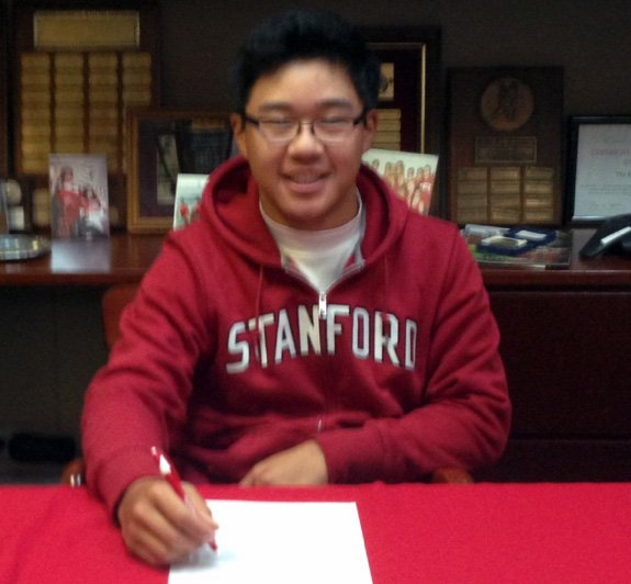 Jim Liu signs with Stanford
