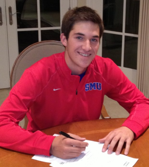 Andrew Buchanan signs with SMU