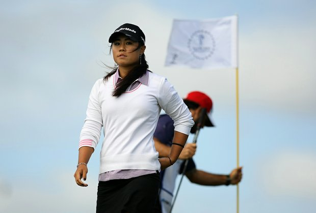 Danielle Kang during the final round of the CME Group Titleholders at Twin Eagles Club.